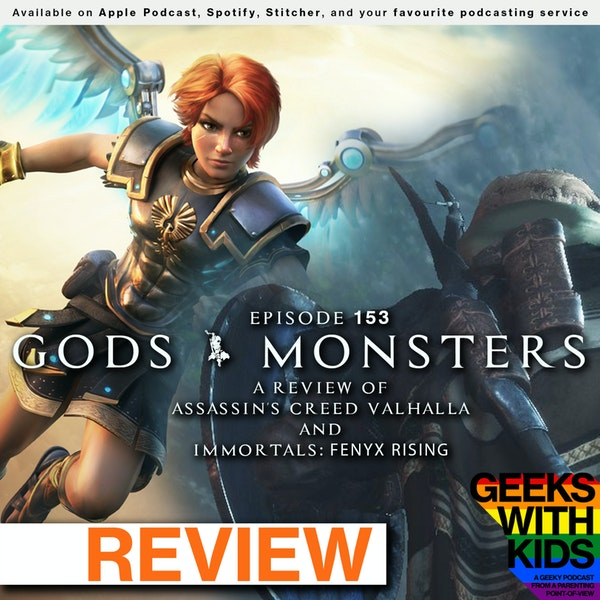 153 - Gods & Monsters: A Review of Assassin's Creed Valhalla & Immortals: Fenyx Rising Image