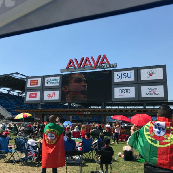 #8: LIVE from Portugal Viewing Party at Avaya Stadium Image