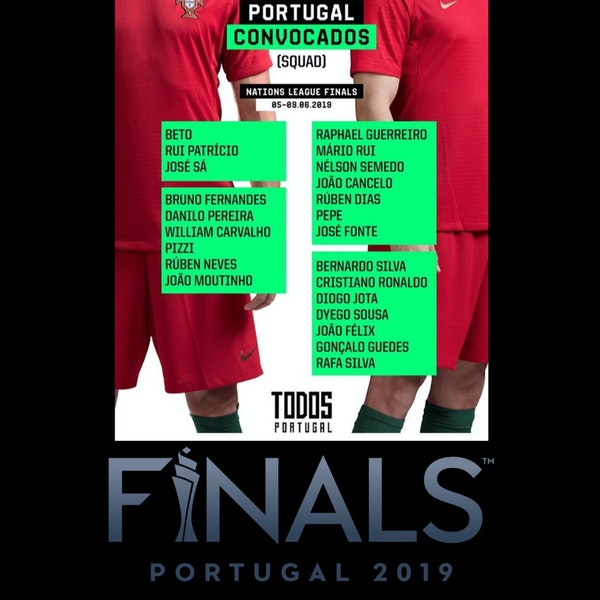 #18: Portugal Preview - Nations League Final 4 w/Cristiano Oliveira of the Benfica Podcast Image