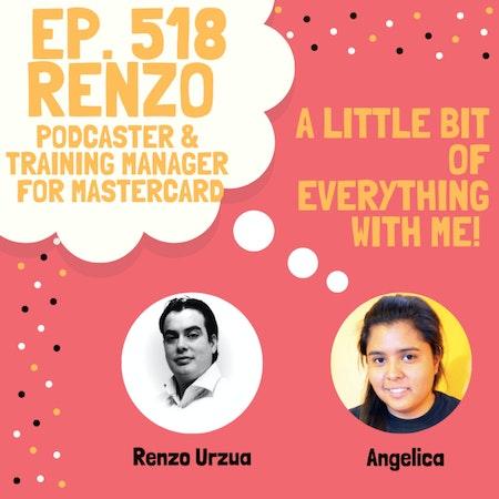 Renzo Urzua - Podcaster & Training Manager for Mastercard Image