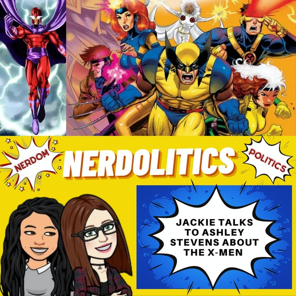 Ashley Stevens talks X-Men, Magneto, and Joe Biden