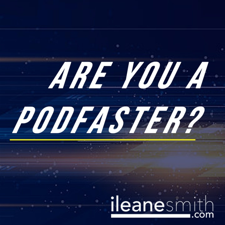 Your Podfasting Makes You a PodFASTER on #NaPodPoMo Day 21