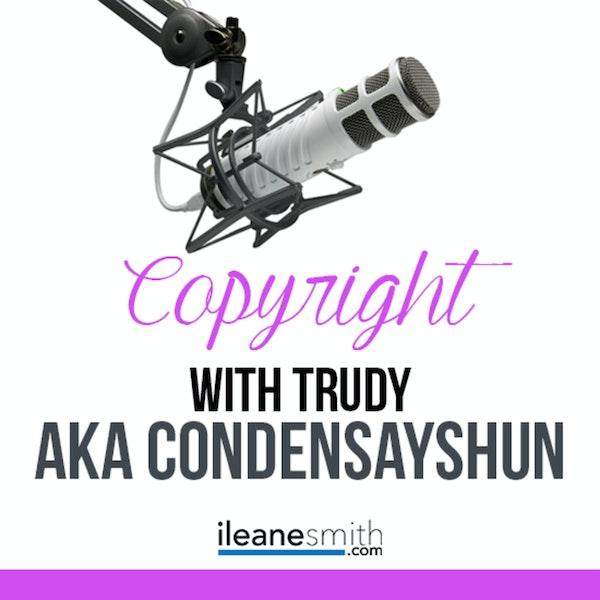 The Copyright Conversation with  Trudy aka Condensayshun Image