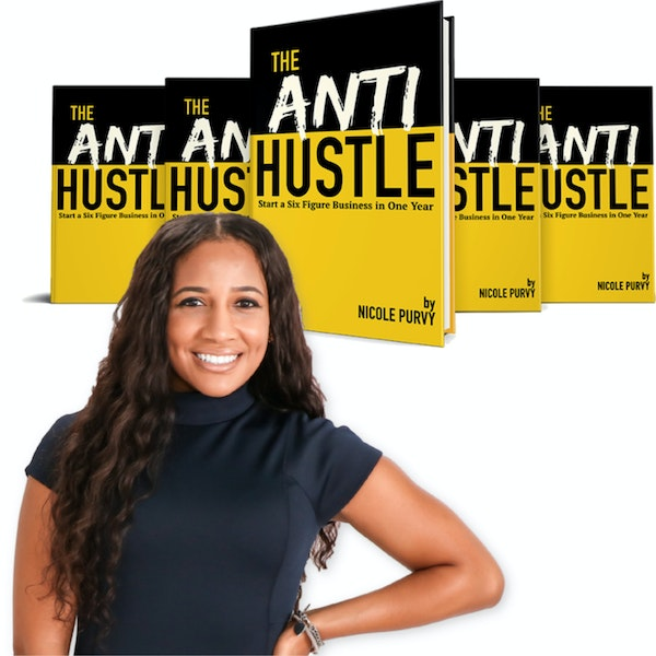 The Anti Hustle Book Interview Image