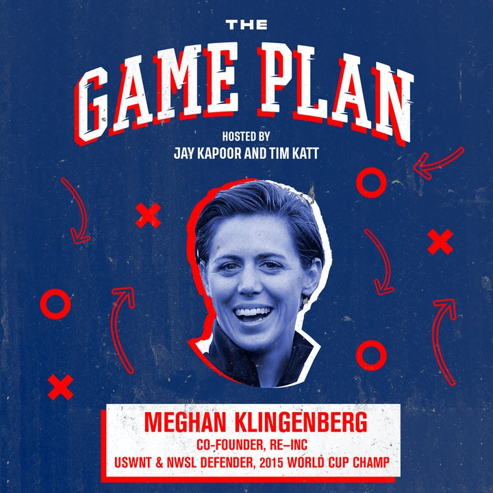 "Episode image for Meghan Klingenberg — World Cup Winner on Speaking Truth to Power & Re-imagining the ""Lifestyle"" Brand"
