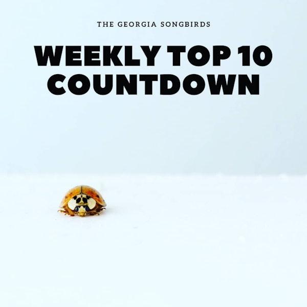 The Georgia Songbirds Weekly Top 10 Countdown Week 34 Image