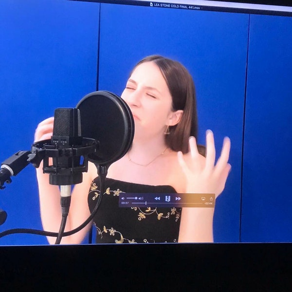 "Lea Garza live from ""The Digital Bird's Nest"" Image"