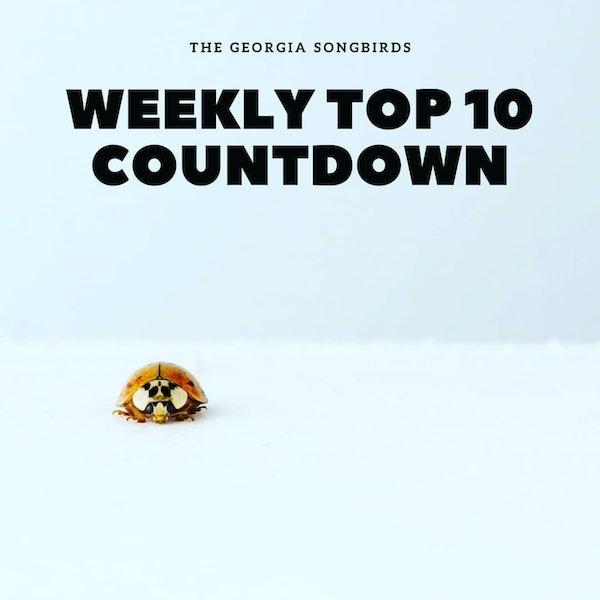 The Georgia Songbirds Weekly Top 10 Countdown Week 49 Image