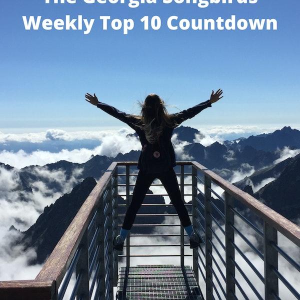 The Georgia Songbirds Weekly Top 10 Countdown Week 56 Image