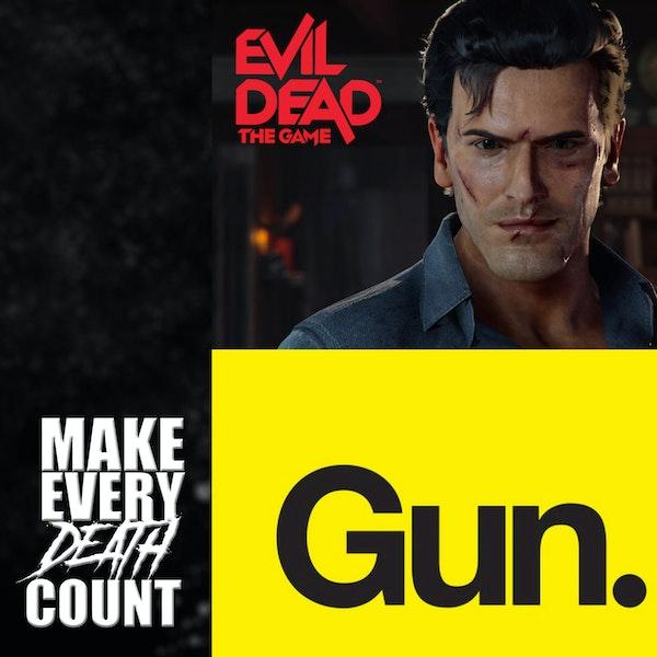 Episode 77: Evil Dead The Game & Gun Media's Next Game   Tin Foil Hat Theories