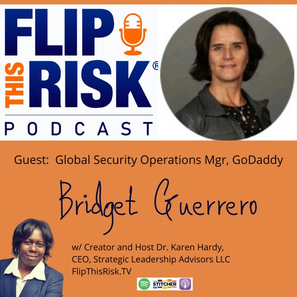 Interview with Bridget Guerrero, Global Security Operations Manager, GoDaddy Image