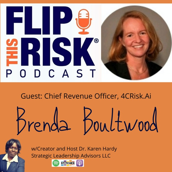 Brenda Boultwood, Chief Revenue Officer, 4CRisk.ai Image
