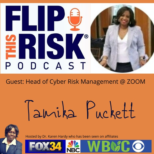 Interview with Tamika Puckett, Head of Cyber Risk Management at ZOOM Image