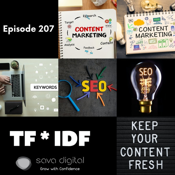 EP 207 : Term Frequency * Inverse Document Frequency ( TF*IDF ) | Content SEO Image
