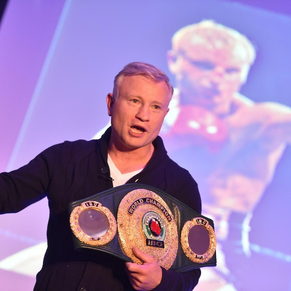 Interview with Billy Schwer, World championship boxer and motivational speaker Image