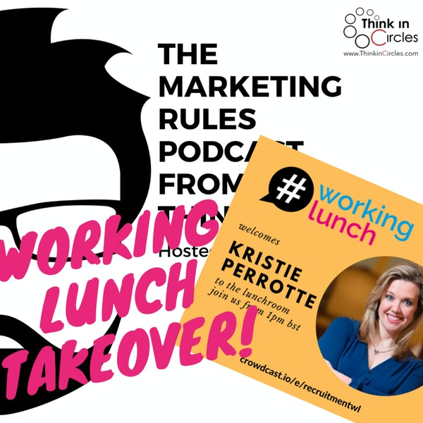 Working Lunch takeover with Kristie Perrotte Image