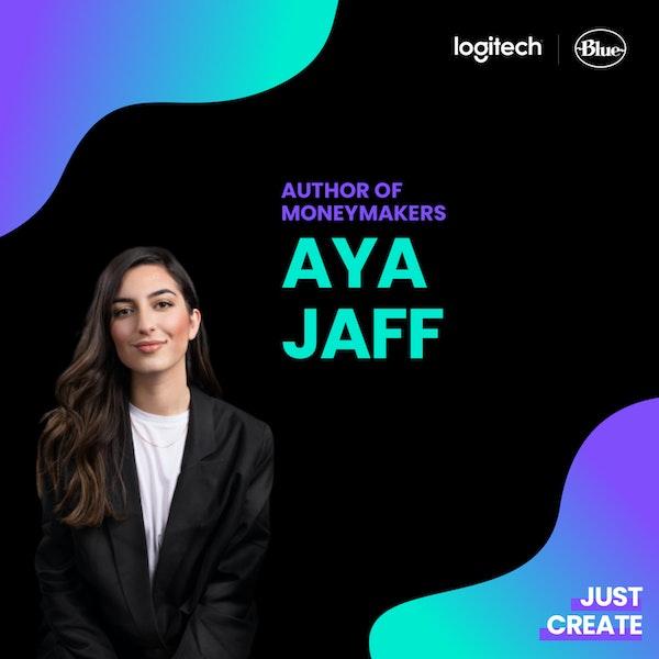 """Aya Jaff, Autorin von """"Moneymakers""""   Just Create"""