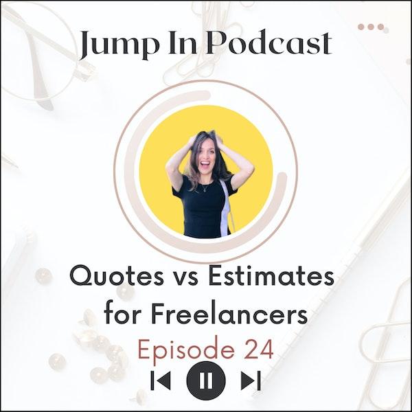 Quotes vs Estimates for Freelancers Image