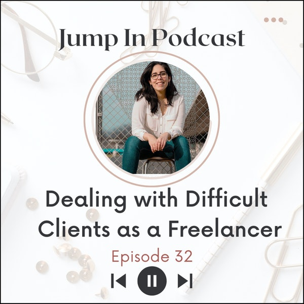 Dealing with Difficult Clients as a Freelancer with Alejandra Villacis from June 10th Creative Services- Part 1 Image