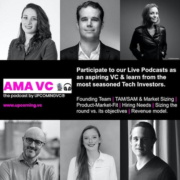 """ANNONCE - Série """"AMA VC"""", 6 Live Podcasts avec 6 VC + 18 aspirants VC.. Candidatures aspirants VC ouvertes! Image"""