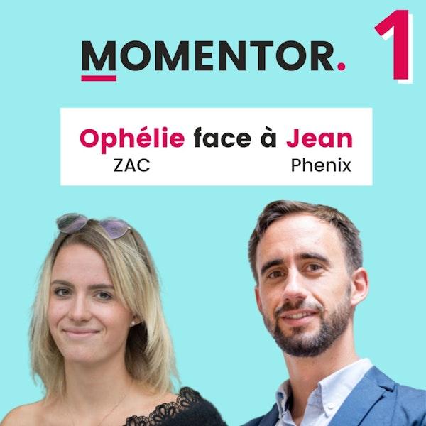 MOMENTOR #1 - Ophélie Vanbremeersch (Co-Founder de ZAC) échange avec Jean Moreau (Co-Founder de Phénix) et Melchior Mesnard (créateur de Momentor) Image