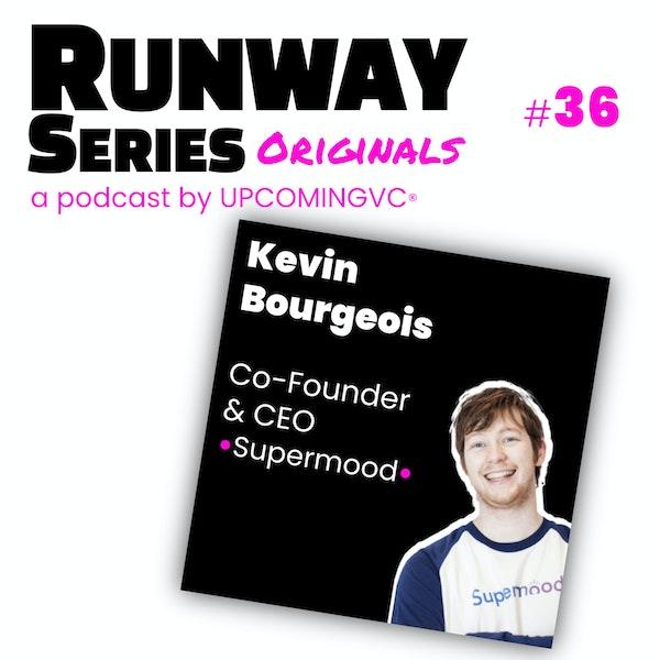 36. Kevin Bourgeois, Co-Founder & CEO @ Supermood - Créer une catégorie après 2 pivots, accompagner les corpo dans leur transfo par l'analytics de l'employee engagement. Image