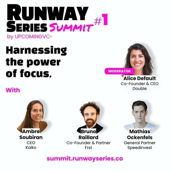 """Harnessing the power of focus - Talk 4 of the """"Runway Series Summit: The Fundamentals of Success""""."""