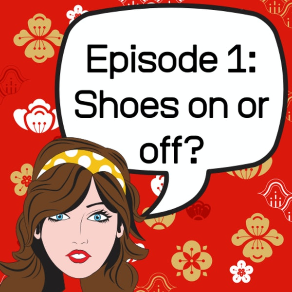Shoes on or off? Image