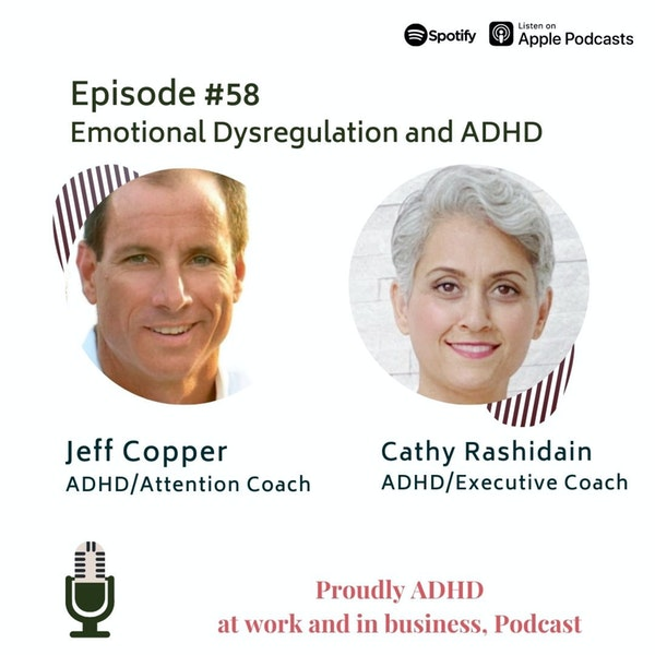 #58: Emotional Dysregulation and ADHD | Guest Jeff Copper Image