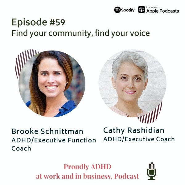 #59: Find your community, find your voice | Guest Brooke Schnittman Image