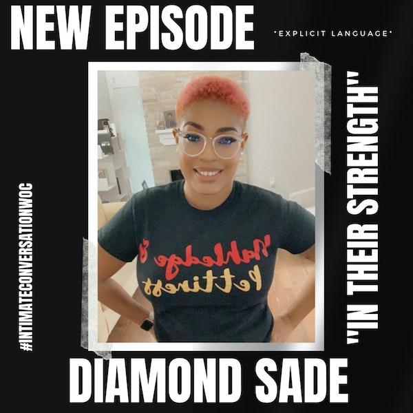 """In Their Strength"" with Diamond Sade Image"