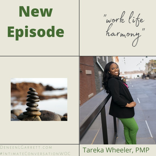 """Work Life Harmony"" with Tareka Wheeler, PMP Image"