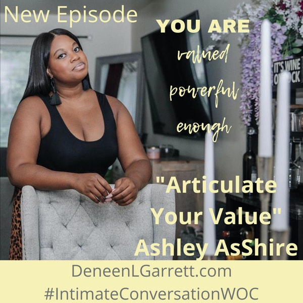 """""""Articulate Your Value!"""" with Ashley AsShire Image"""