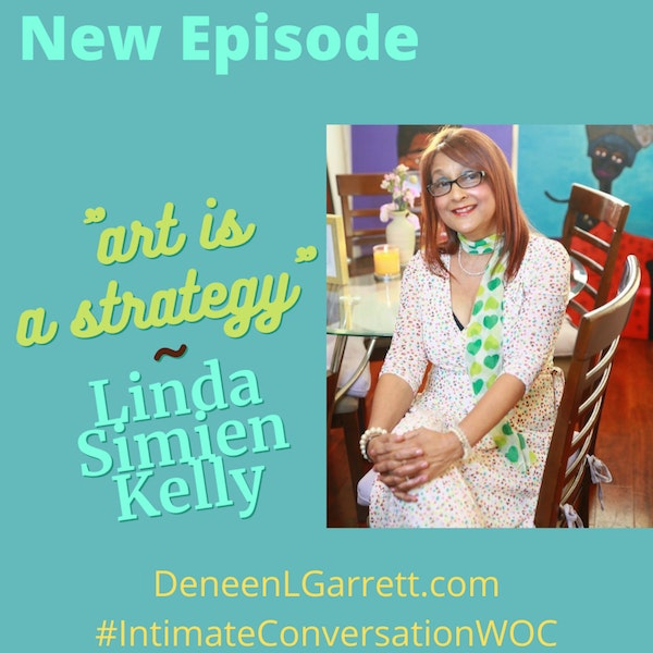 """""""Art is a Strategy!"""" with Linda Simien Kelly Image"""