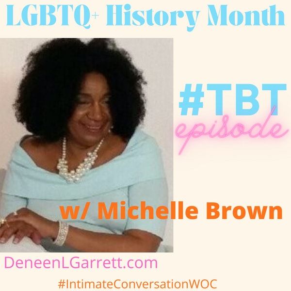 TBT for LGBTQ+ History Month with Michelle Brown Image