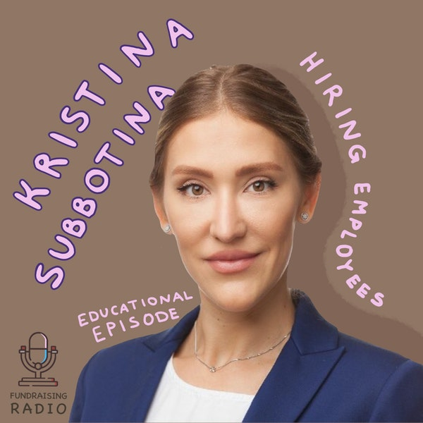Educational episode #7 - major mistakes while hiring new employees and how not to get sued, by Kristina Subbotina. Image