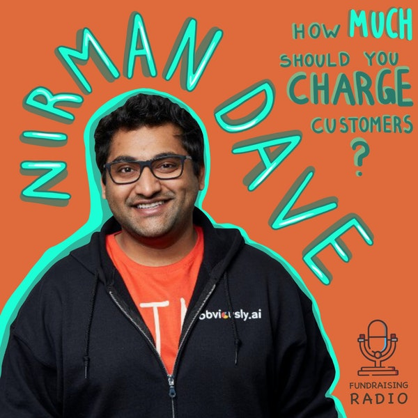 Coming up with pricing for your product and raising from Sequoia scouts - Nirman Dave on ObviouslyAI fundraising. Image
