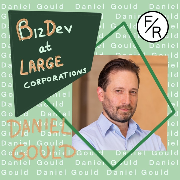 Business Development at Large Corporations vs. Small Startups #2 - With Daniel Gould