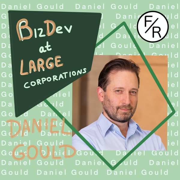 Business development at large corporations vs small startups#2, by Daniel Gould Image