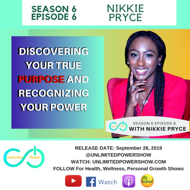 UP #66 I AM Affirmations to go from Depressed to In-Powered | Nikkie Pryce on Unlimited Power Show