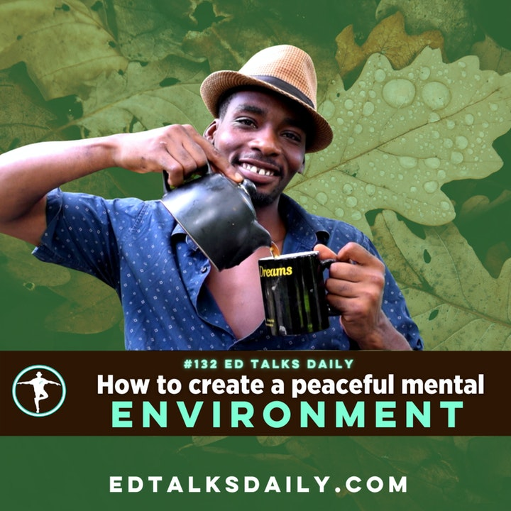 #132 Ed Talks Creating a mental environment that supports your holistic lifestyle