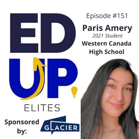 151: BONUS: EdUp Elites: Paris Amery, 2021 Student, Western Canada High School Image