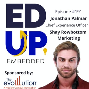 191: You Aren't Using LinkedIn Correctly - with Jonathan Palmar, Chief Experience Officer, Shay Rowbottom Marketing
