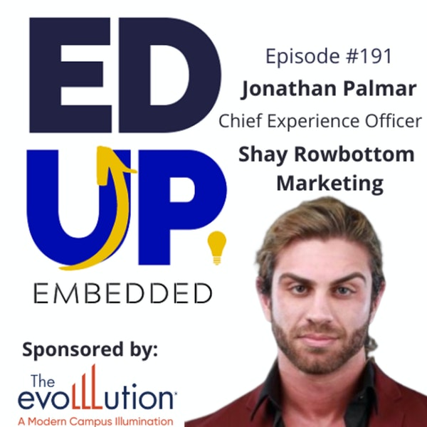 191: You Aren't Using LinkedIn Correctly - with Jonathan Palmar, Chief Experience Officer, Shay Rowbottom Marketing Image