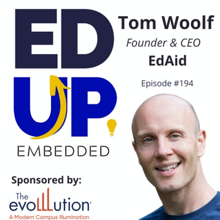 194: Global Perceptions of Student Debt - with Tom Woolf, Founder & CEO, EdAid Image