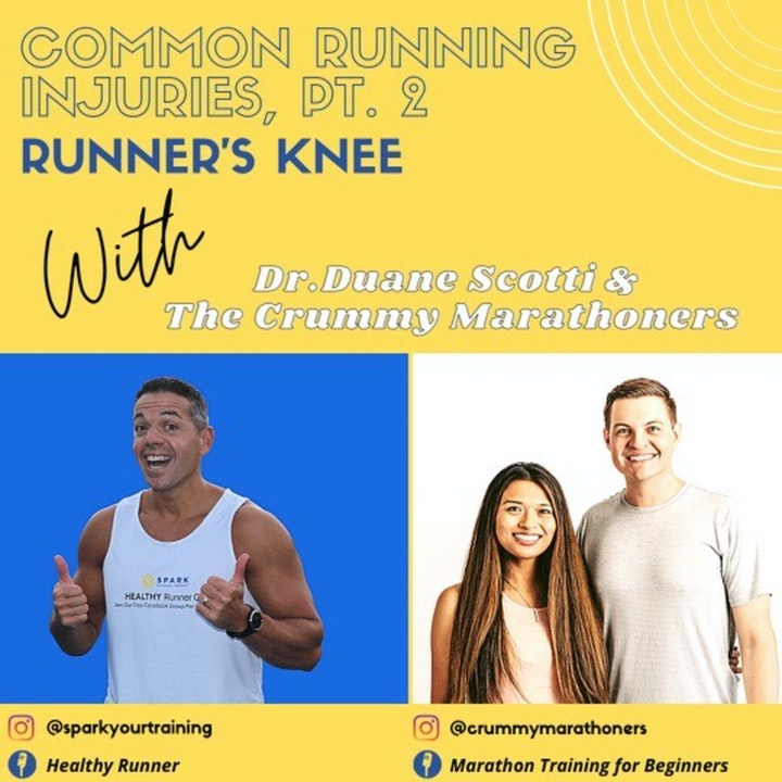 Common Running Injuries Pt. 2, Runner's Knee w/ Dr. Duane Scotti
