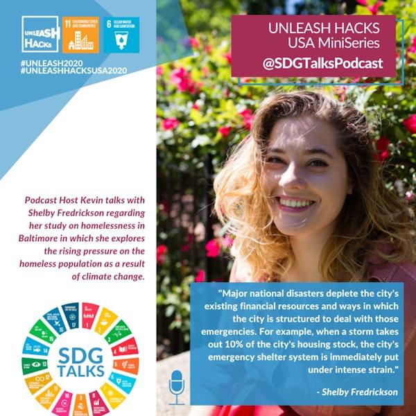 SDG #11 - Overcoming Homelessness with Shelby Fredrickson Image