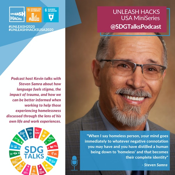 SDG #11 - Equitable Approaches to People Experiencing Homelessness with Steven Samra Image
