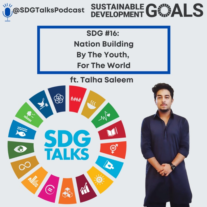 SDG# 16- Nation Building by the Youth for the World with Talha Saleem