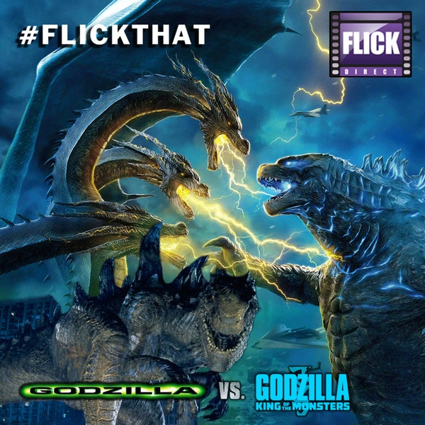 FlickThat Takes on Godzilla Image